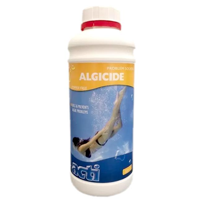 Spa Algaecide - 1 Litre Bottle - Prevent Algae Growth