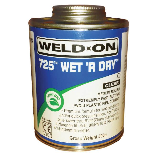 Weld-On 725 Wet & Dry Glue